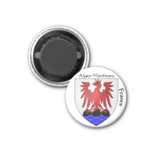 Coat of Arms Alpes-Maritimes, France Magnet