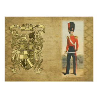 Coat of Arms and Victorian Guard Card