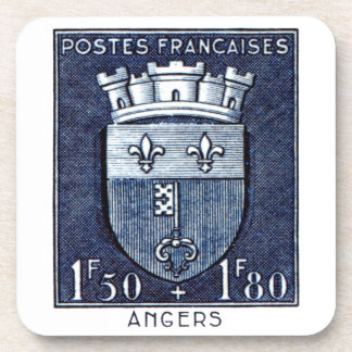 Coat of Arms, Angers France Coaster