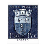 Coat of Arms, Angers France Post Cards
