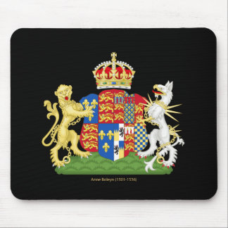 Coat of Arms Anne Boleyn Mouse Pad