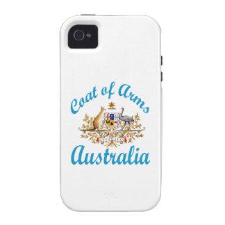 Coat Of Arms Australia Vibe iPhone 4 Cases
