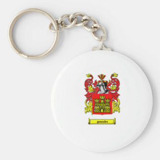 Coat of Arms Basic Round Button Keychain