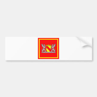 Coat of arms bathing president bumper sticker