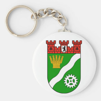 Coat of arms Berlin Marzahn Hellersdorf Basic Round Button Keychain