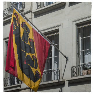 Coat Of Arms - Bern - Switzerland Napkin