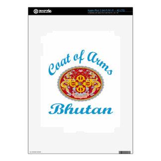 Coat Of Arms Bhutan Decal For iPad 3