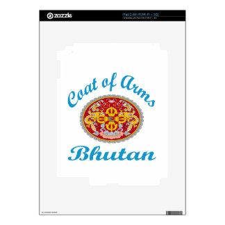Coat Of Arms Bhutan iPad 2 Skins
