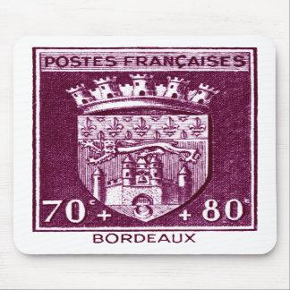 Coat of Arms, Bordeaux France Mouse Pads