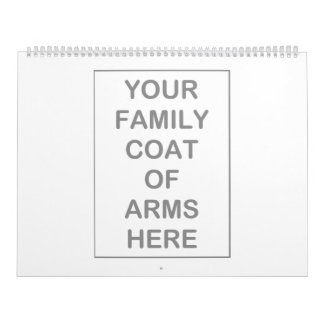 Coat of Arms Calendars