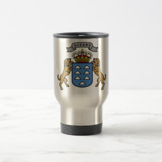 Coat of Arms Canary Islands Official Symbol Spain Mug