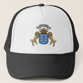 Coat of Arms Canary Islands Official Symbol Spain Trucker Hat