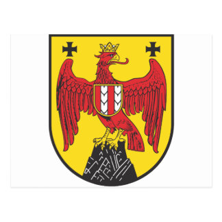 Coat of arms castle country Austria Post Cards