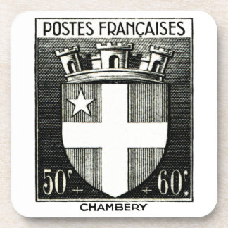 Coat of Arms, Chambery France. Coaster