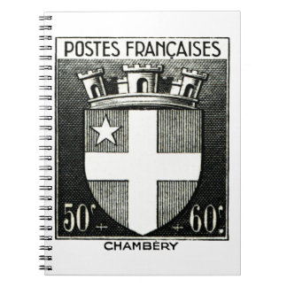 Coat of Arms, Chambery France Notebook