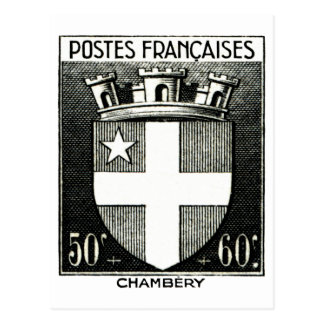 Coat of Arms, Chambery France Post Cards