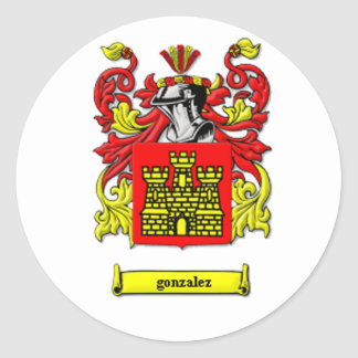 Coat of Arms Classic Round Sticker