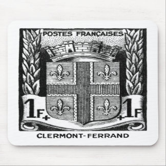 Coat of Arms, Clermont-Ferrand France Mousepads