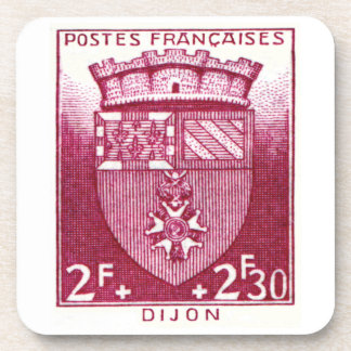 Coat of Arms, Dijon France Drink Coasters