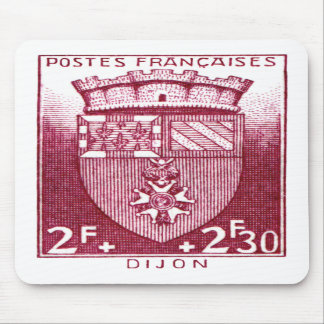 Coat of Arms, Dijon France Mouse Pads