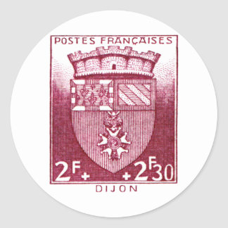 Coat of Arms, Dijon France Stickers