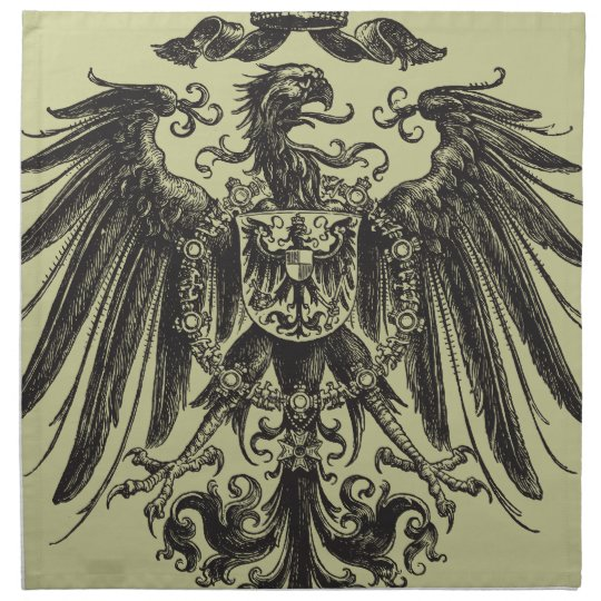 Coat of Arms Eagle Napkin