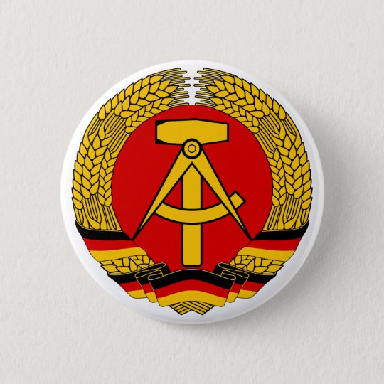 Coat of arms East Germany Official Heraldry Symbol Button