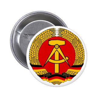 Coat of arms East Germany Official Heraldry Symbol Pinback Button
