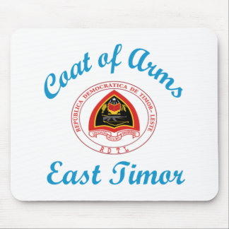 Coat Of Arms East Timor Mousepads