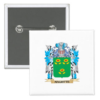 Coat of Arms - Family Crest Pinback Button