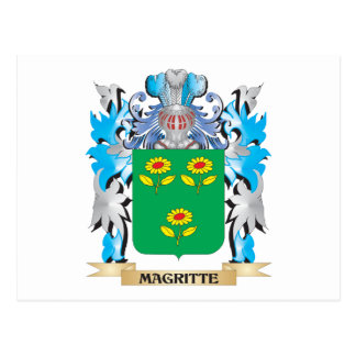 Coat of Arms - Family Crest Postcard