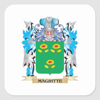 Coat of Arms - Family Crest Square Sticker