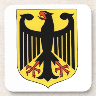 Coat of Arms for Germany Beverage Coaster