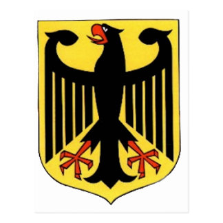 Coat of Arms for Germany Postcard