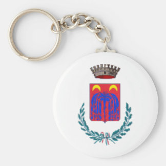 Coat of Arms for Ortucchio, Italy Keychain