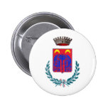Coat of Arms for Ortucchio, Italy Pinback Buttons