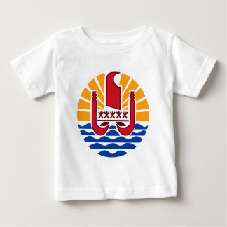 Coat of arms, French Polynesia Polynésie Française Baby T-Shirt