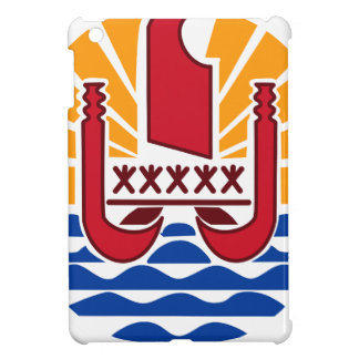 Coat of arms, French Polynesia Polynésie Française Case For The iPad Mini