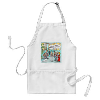 Coat Of Arms Funny Gifts Tees & Cards Etc. Adult Apron
