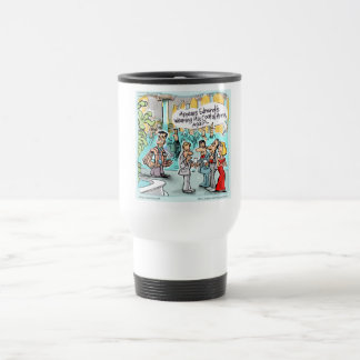 Coat Of Arms Funny Gifts Tees & Cards Etc. Travel Mug