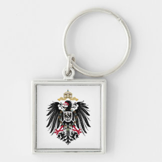 Coat of arms German Reich of 1889 realm eagles Keychain