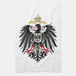 Coat of arms German Reich of 1889 realm eagles Kitchen Towel