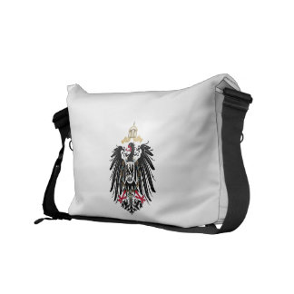 Coat of arms German Reich of 1889 realm eagles Messenger Bag