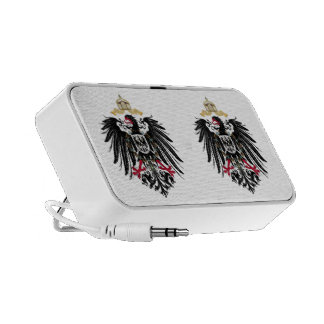 Coat of arms German Reich of 1889 realm eagles Mini Speaker