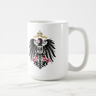Coat of arms German Reich of 1889 realm eagles Coffee Mug