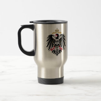 Coat of arms German Reich of 1889 realm eagles Travel Mug
