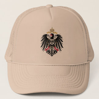 Coat of arms German Reich of 1889 realm eagles Trucker Hat