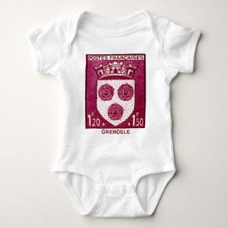 Coat of Arms, Grenoble France Baby Bodysuit