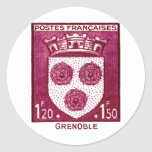 Coat of Arms, Grenoble France Sticker