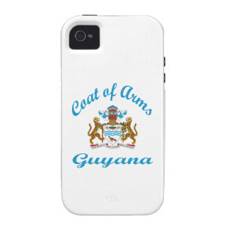 Coat Of Arms Guyana Case For The iPhone 4